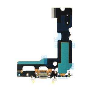 iPhone 7 Plus Ladeport og Mikrofon Flex Kabel - Grå