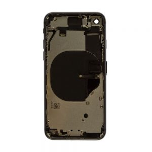 iPhone 8 Bakdeksel Svart