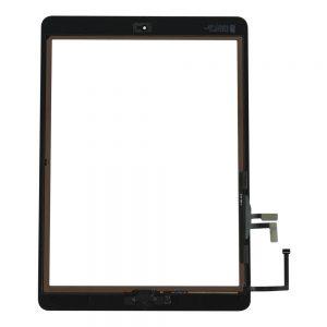 Kjøp iPad Air 1 Glass Og Touch Med Lim Og Hjem Knapp - Hvit