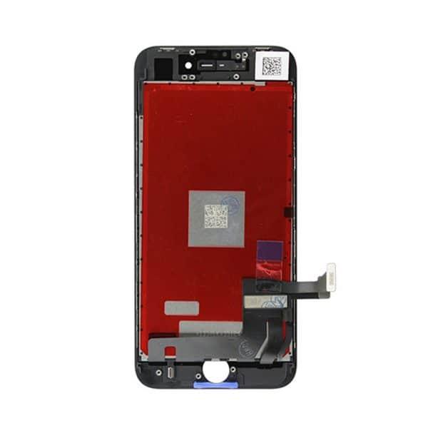 Skjerm iPhone 8 Bak Svart God Kvalitet