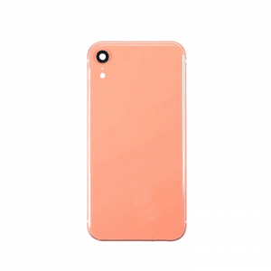 iPhone XR Bakdeksel/ Ramme Korallrød
