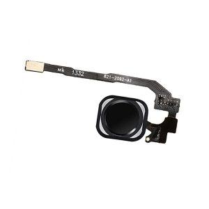 iPhone 5s Hjemknapp med Flex Kabel - Svart