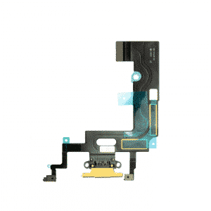 iPhone XR Ladeport Flex Kabel Gul