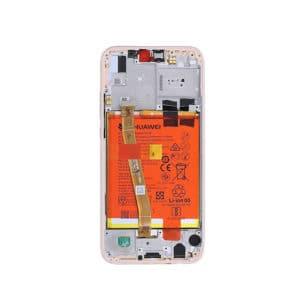 Huawei P20 Lite LCD Skjerm - Rosa