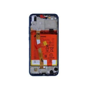Huawei P20 Lite Skjerm Original - Blå