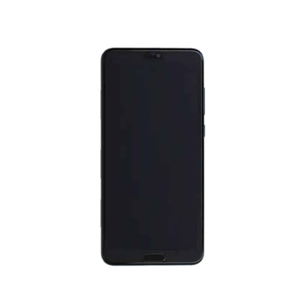 Huawei P20 Pro Skjerm med Ramme og Batteri Svart