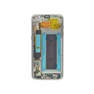 Samsung Galaxy S7 Edge Skjerm - Hvit