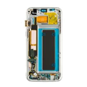 Samsung Galaxy S7 Edge Skjerm - Gull